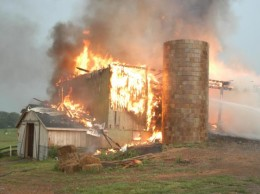 Be sure this doesn't happen at your place!  Source:  Pennsylvania State University, Agricultural Safety and Health