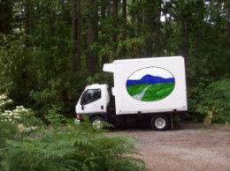 Smith Meadows Farm delivery truck