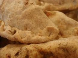 Smith Meadows meat filled empanadas with a lard based crust.