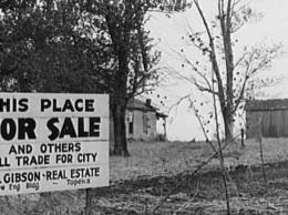Farm Security Administration Photo, 1938.