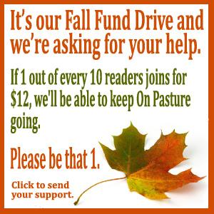 Fall Fund Drive a