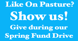 Give during our spring fund drive