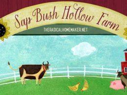 Sap Bush Hollow Farm Logo
