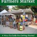 Selling At Farmers Market by Sandra Kay Miller
